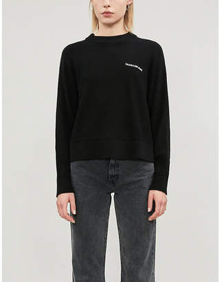 Calvin Klein Branded knitted jumper