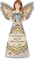 Element Irish Blessing Angel Figurine by Pavilion, 6-Inch, Inscription May God Hold You in The Palm of His Hand by