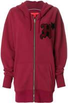 Tommy Hilfiger zipped logo hoodie