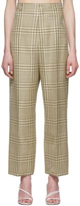 Jacquemus Green Check Le Pantalon Santon Trousers
