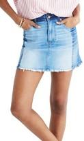 Madewell Women's Mccaren Denim Miniskirt