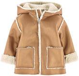Il Gufo Imitation sheepskin coat