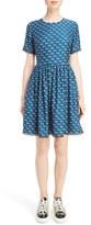 Kenzo Women's Print Cotton Skater Dress