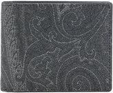 Etro paisley billfold wallet