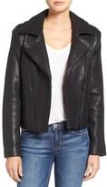 Joe's Jeans Women's 'Rene' Leather Moto Jacket