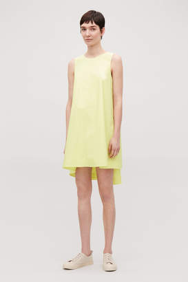 Cos DOUBLE-LAYER SLEEVELESS DRESS
