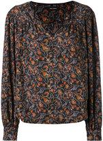 Isabel Marant floral print blouse - women - Silk/Cotton - 38