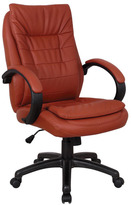 Acme Jaye Red Leatherette Pneumatic Lift Office Chair