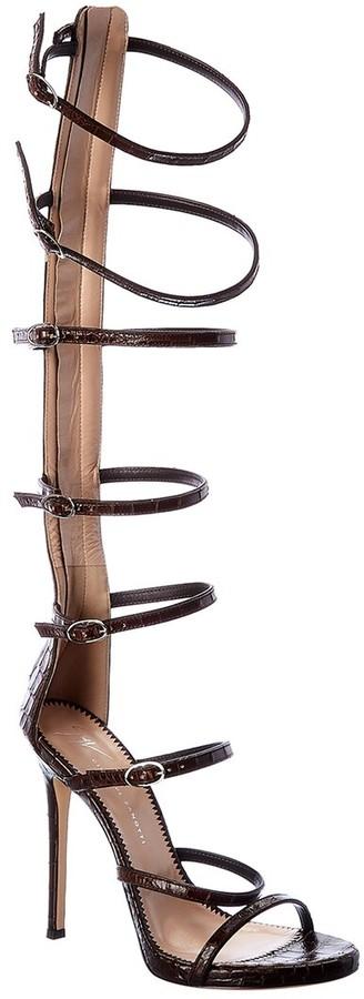 Thumbnail for your product : Giuseppe Zanotti Leather Sandal