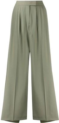 Frenken Slit High-Waisted Skirt