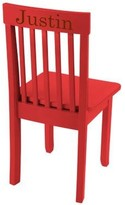 The Well Appointed House Child's Personalized Avalon Chair in Red