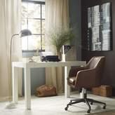 west elm Parsons Desk - White