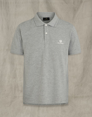 Belstaff SHORT SLEEVED POLO Grey