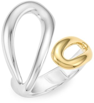 Ippolita Classico Chimera Two-Tone Cherish Bypass Ring