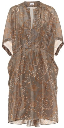 Brunello Cucinelli Exclusive to Mytheresa Printed silk dress