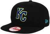 New Era Kansas City Royals Aqua Hook Basic 9FIFTY Snapback Cap