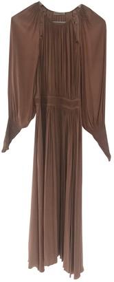 Ulla Johnson Camel Polyester Dresses