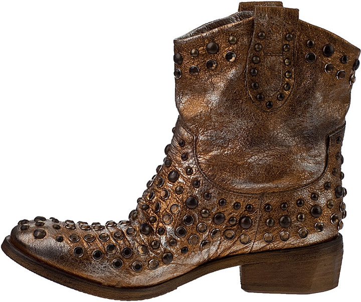 Bryan Blake A1050 Western Boot Bronze Leather