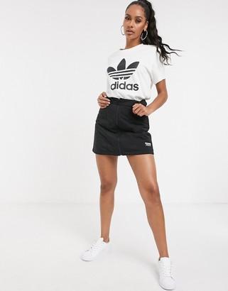 adidas RYV utility skirt in black