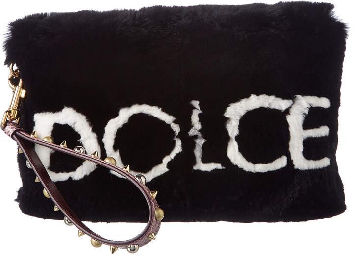 Dolce & Gabbana Applique Mini Bag