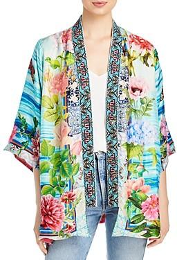Johnny Was Silk Parvati Kimono