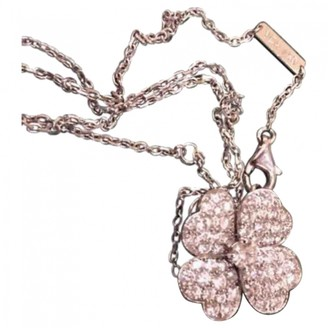 Van Cleef & Arpels Fleurs Silver White gold Necklaces
