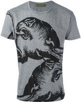 Valentino panther print T-shirt - men - Cotton - S