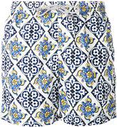 MC2 Saint Barth tile print swim shorts - men - Polyester/Polyamide/Spandex/Elastane - S