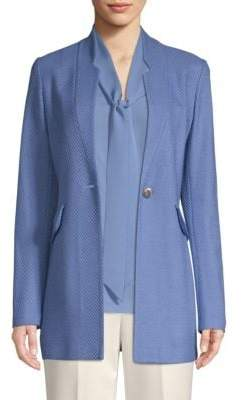 St. John Knit Tweed Jacket