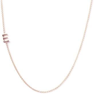 Maya Brenner Asymmetrical Letter Necklace - E