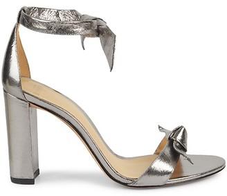 Alexandre Birman Clarita Stack Heel Leather Sandals