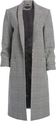 Alice + Olivia KYLIE LONG SHAWL COLLAR JACKET