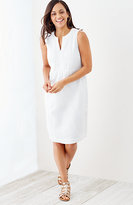 J. Jill Linen Empire-Waist Dress