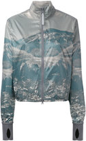 adidas by Stella McCartney Run mountain print jacket - women - Polyester - S