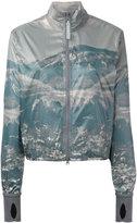 adidas by Stella McCartney Run mountain print jacket - women - Polyester - S