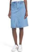 Levi's Levi&s Levi&s(R) A-Line Denim Midi Skirt