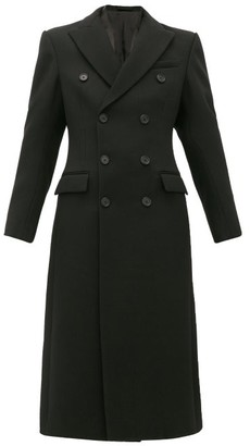Wardrobe NYC Release 05 Double-breasted Wool Coat - Black