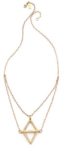 Pamela Love Balance Pendant Necklace