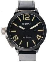 U-Boat IFO Stainless Steel PVD Black Dial 45mm Mens Watch