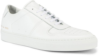 Common Projects Leather BBall Low in White | FWRD