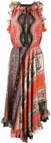 Etro multi-print halterneck dress