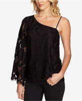 1 STATE 1.STATE One-Shoulder Lace Top