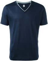 Eleventy v-neck T-shirt - men - Silk/Cotton - M