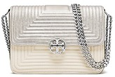 Tory Burch Duet Chain Trapunto Convertible Shoulder Bag