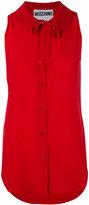 Moschino bow collar shirt - women - Silk - 42