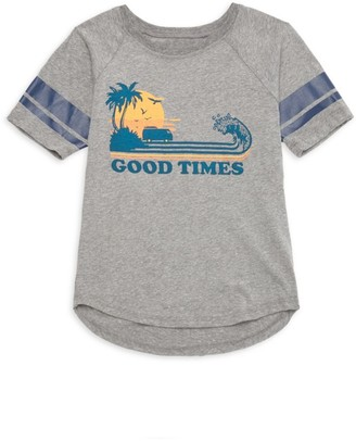 Tiny Whales Little Boy's & Boy's Permanent Vacation Good Times Graphic Tee