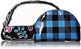 Vera Bradley Clear Duo Cosmetic Case