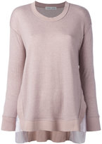 Tsumori Chisato knitted sweater - women - Cotton/Wool - S