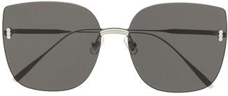 Gentle Monster Modmo 02 oversized-frame sunglasses