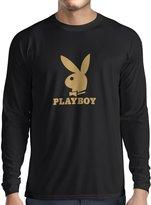 lepni.me N4056L T-shirt long sleeve Bachelor gift ( Black White)
